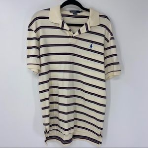 Polo Ralph Lauren Striped Polo Shirt M